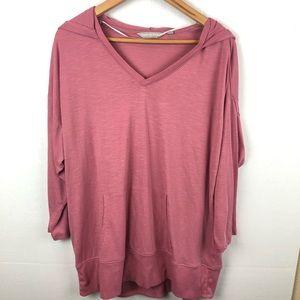 Harmony Balance pink hoodie sz 1x top shirt